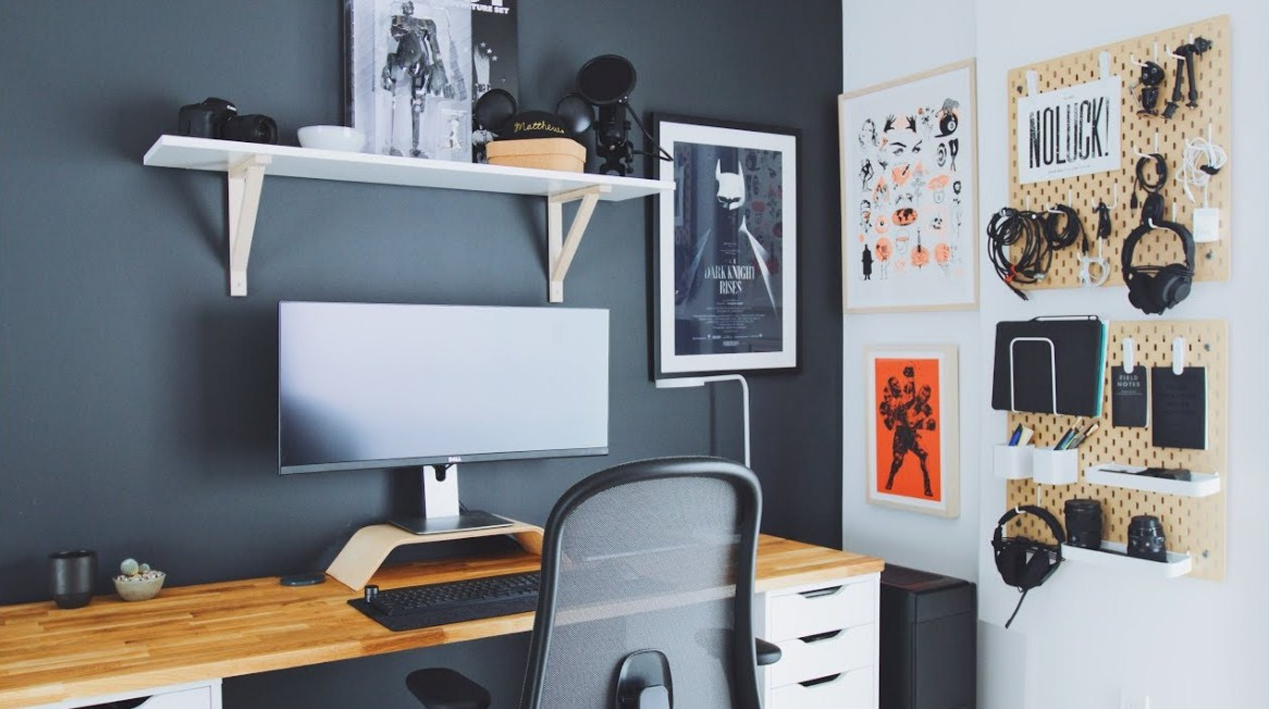 home office decor youtube diy desk tour