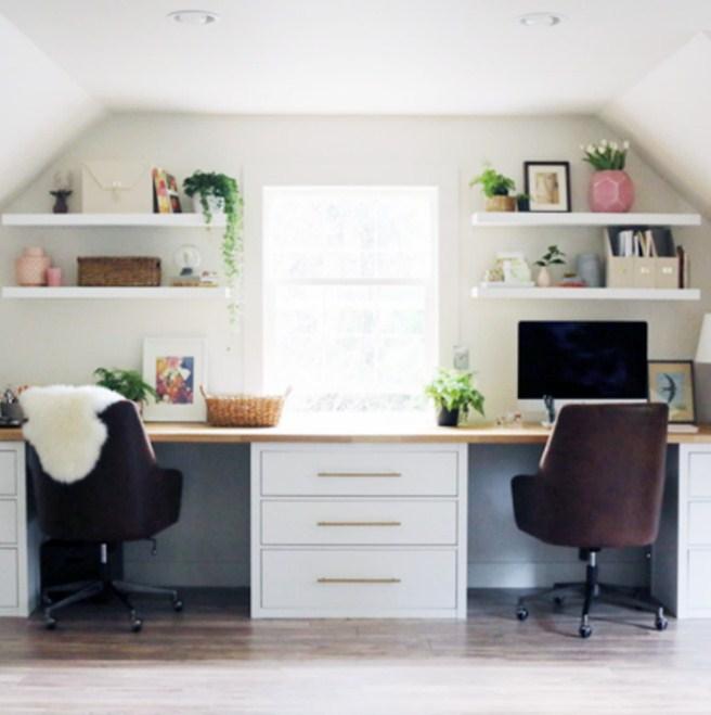 home office desk hacks ikea