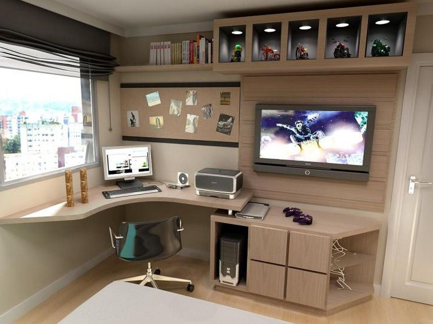 Home Office For A Man