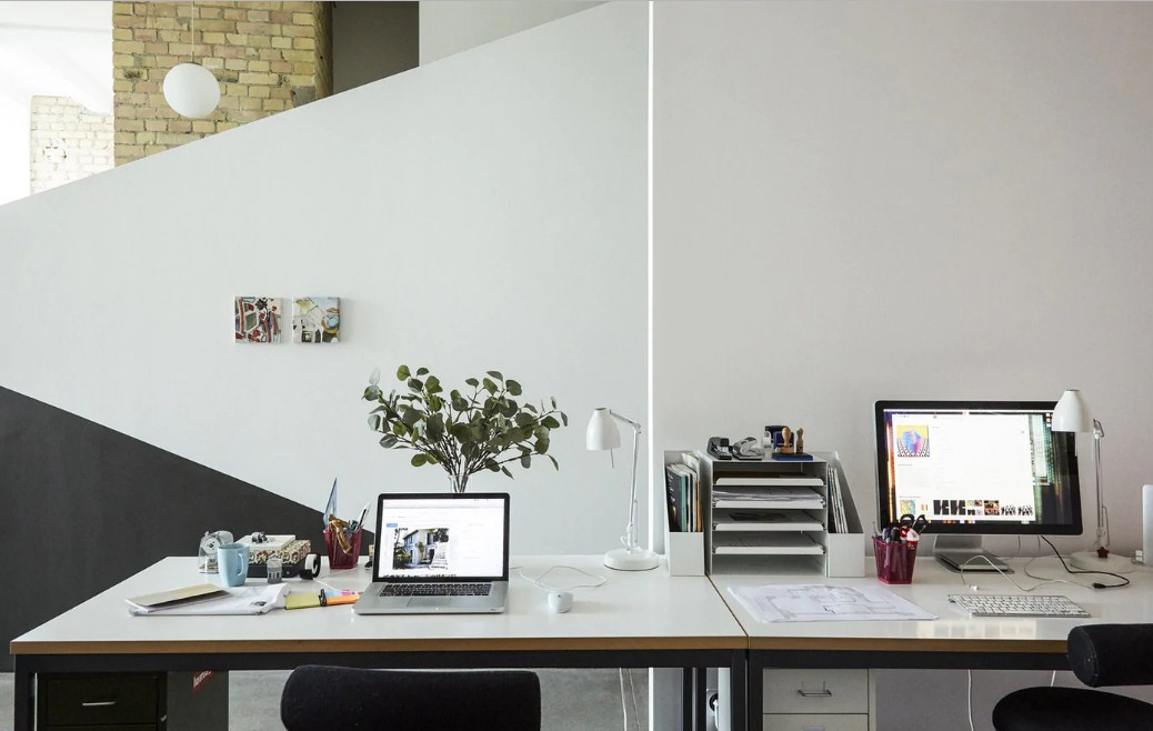 home office for architect