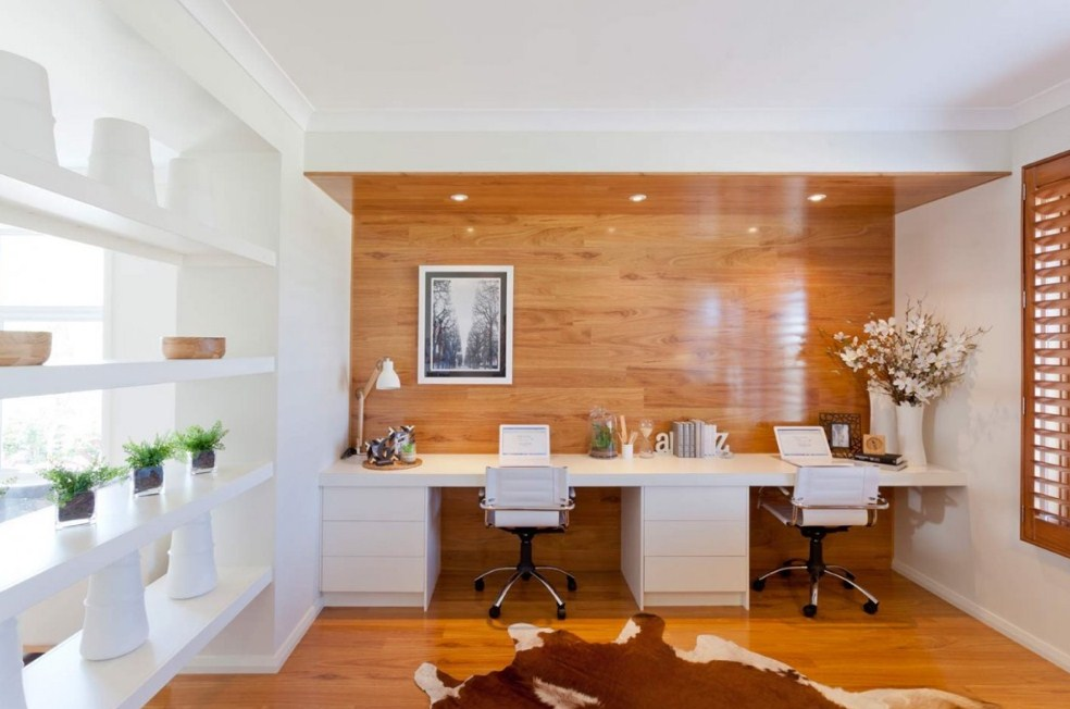 Home Office For Two Layout Inspiration