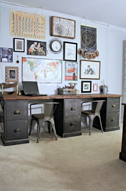 Home Office Furniture With File Cabinets