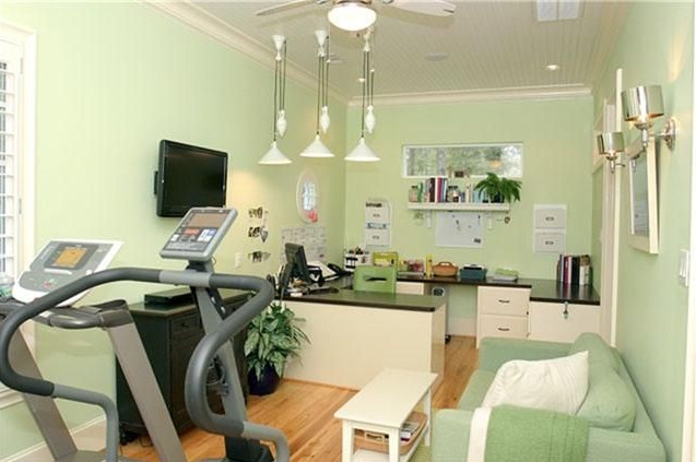 Home Office Guest Room Gym