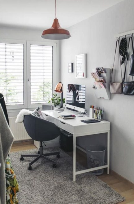 Home Office Ideas Cheap Ikea Furniture With Design And Decorating
