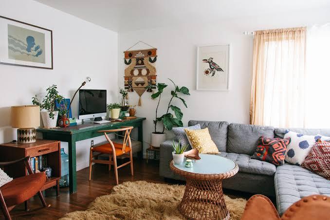 home office ideas in living room ideas jpeg