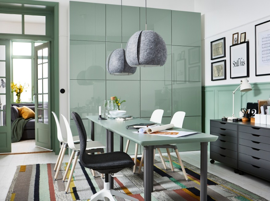Home Office Ideas Using Ikea Furniture Small Storage Collections