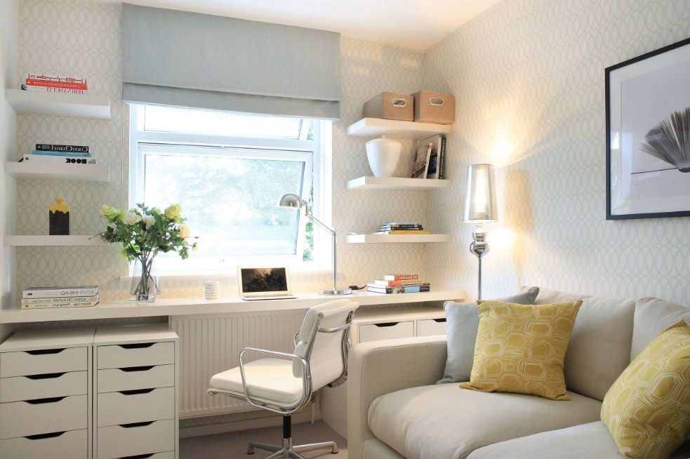 home office ideas with daybed beach decor