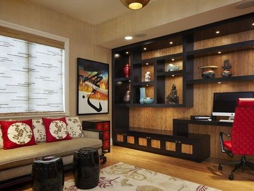 home office japanese design style
