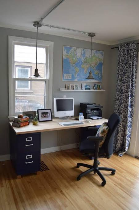 Home Office Light Fixture Ideas