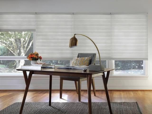 Home Office Light Shade & Blinds