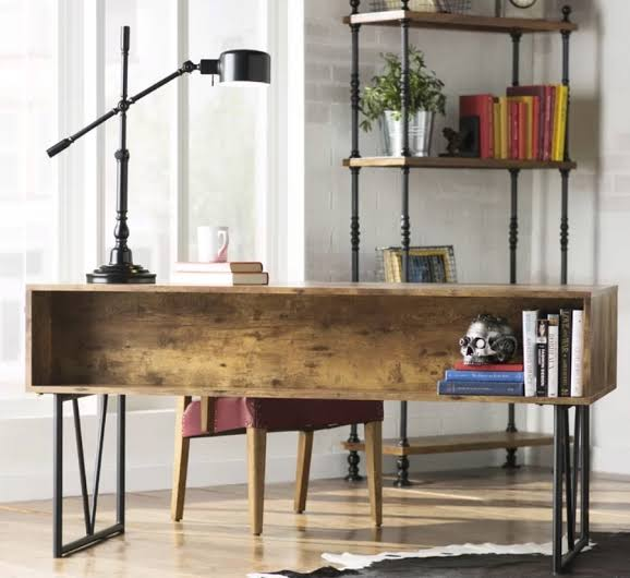 home office table lamp industrial workspace jpeg