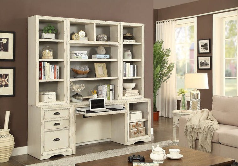 Home Office Wall Hutch And File Storage