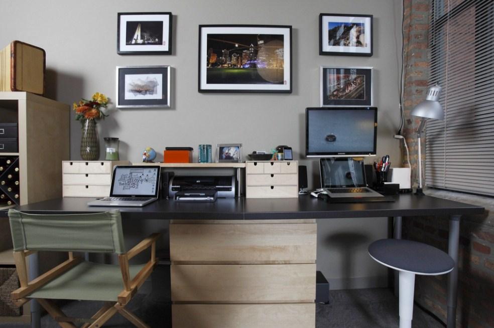 new home office ideas for men