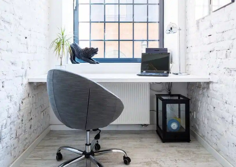 small office home office ideas white