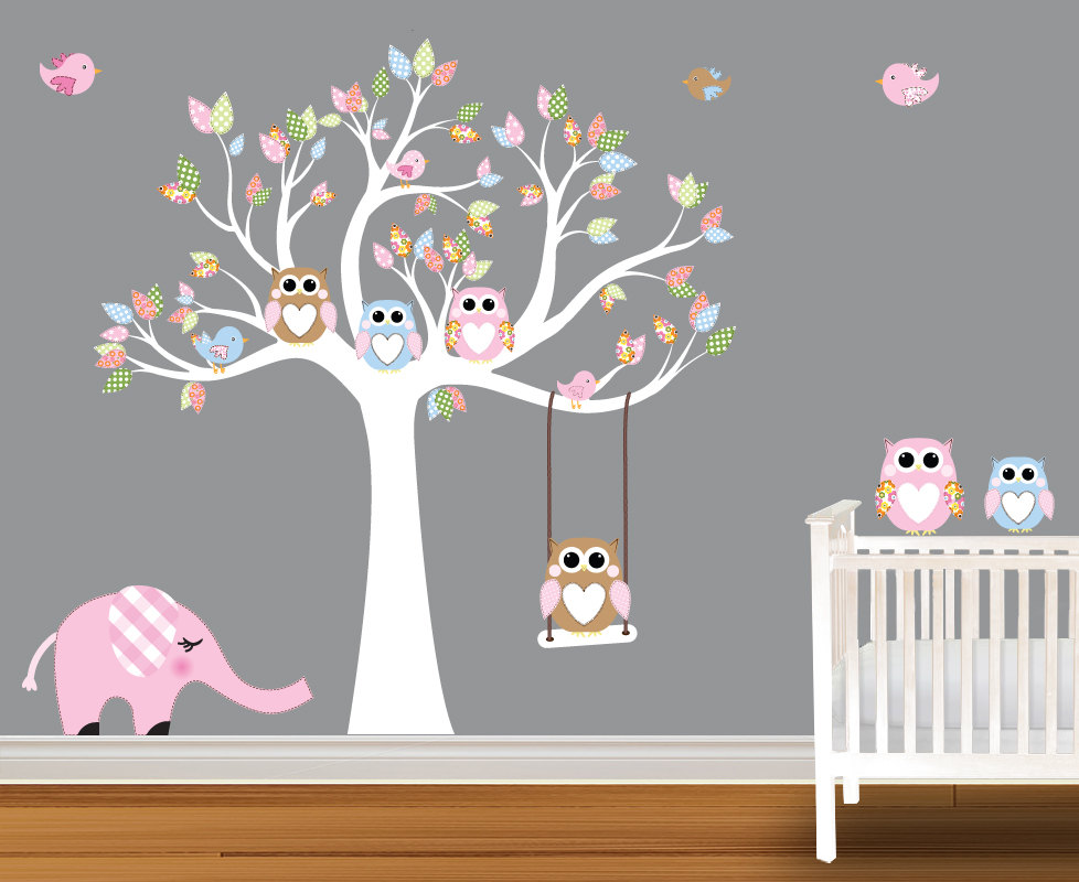 Baby Bedroom Wall Design Custom Baby Wall Designs