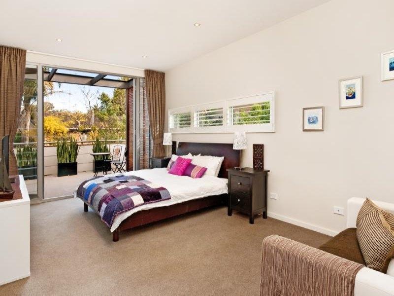 bedroom design idea with carpet balcony using beige colours minimalist bedroom balcony designs