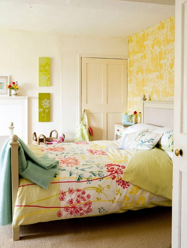 Bedroom Ideas Floral Alluring Floral Wallpaper Bedroom Ideas Best Floral Wallpaper Bedroom Ideas