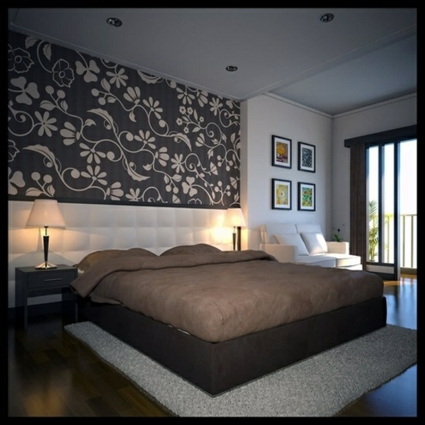Bedroom Wall Design Images Pop Designs With Lights Modern For Simple Bedroom Wall Design