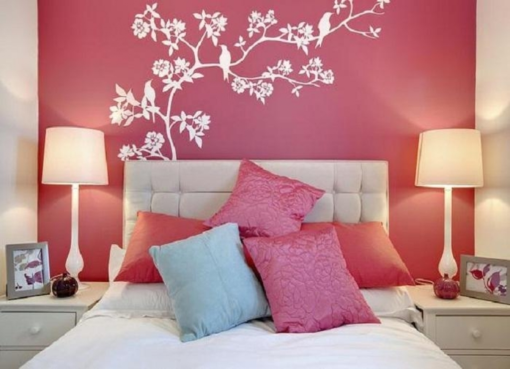 Bedroom Wall Paint Designs Nightvaleco Modern Bedrooms Walls Designs