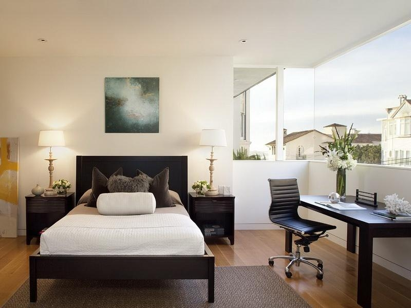 bedroom with office decorating ideas example lowshine awesome bedroom office decorating ideas