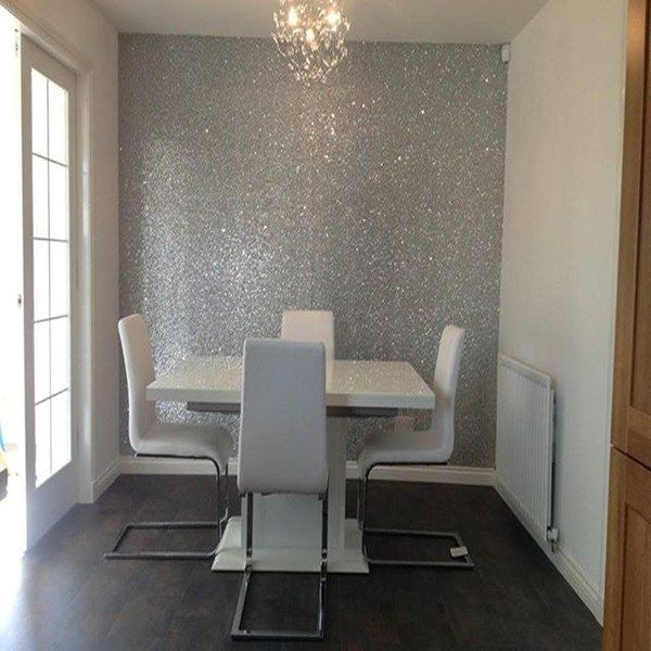 Best Glitter Wallpaper Ideas On Pinterest Beautiful Bedroom Paint And Wallpaper Ideas