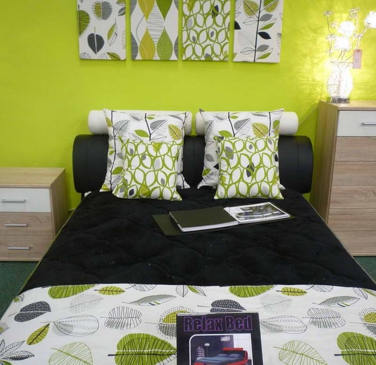 Best Ideas About Lime Green Bedrooms On Pinterest Luxury Design Of Bedroom Walls