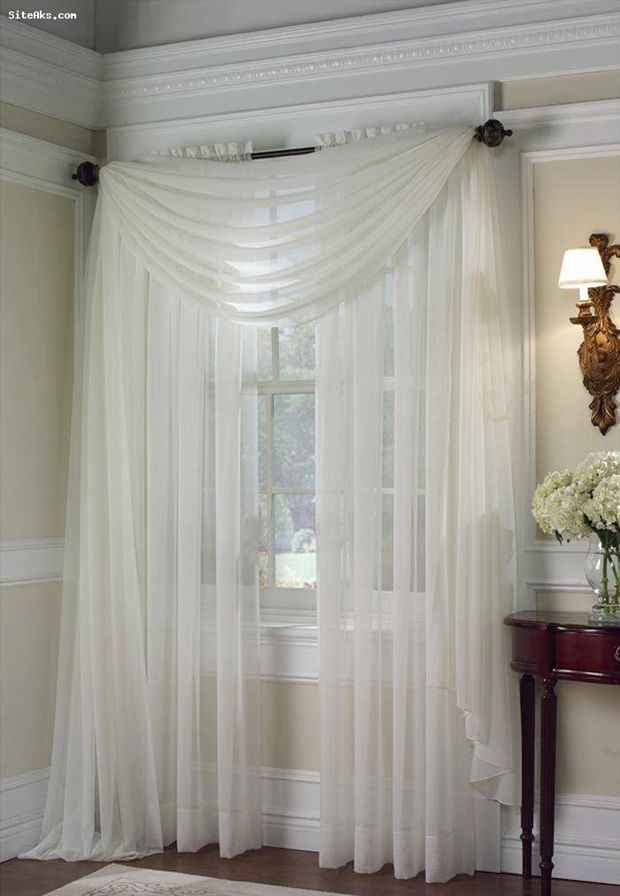 Best Ideas About Sheer Curtains On Pinterest Curtains For Cool Bedroom Curtain Ideas