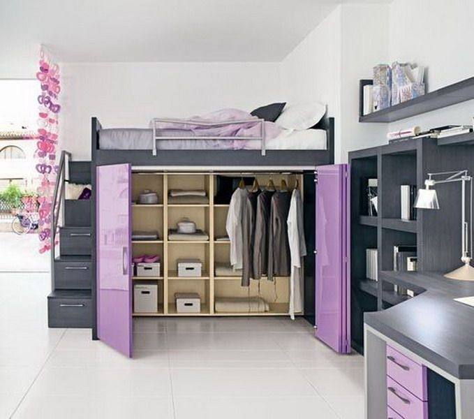 Best Ideas About Teen Loft Beds On Pinterest Teen Loft Cool Bedroom Loft Ideas