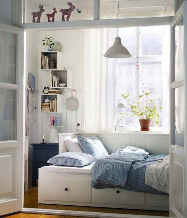 Best Ikea Small Double Bed Ideas On Pinterest Impressive Design Bedroom Ikea