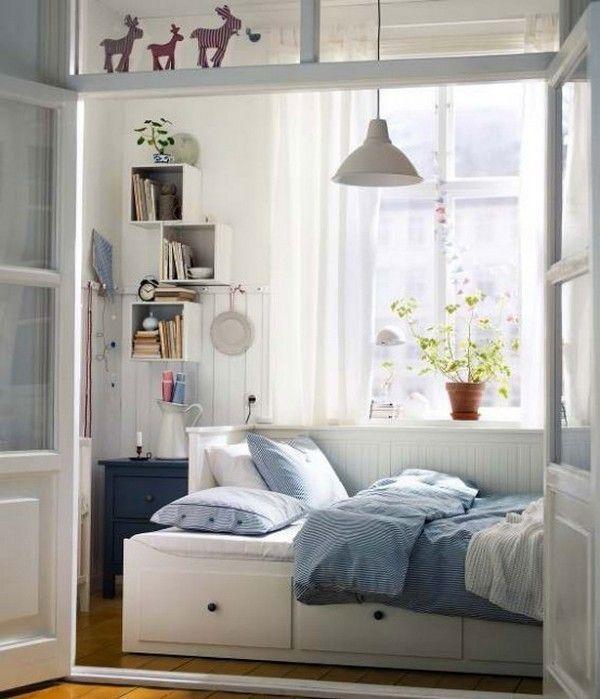 Best Ikea Small Double Bed Ideas On Pinterest Impressive Design Bedroom Ikea