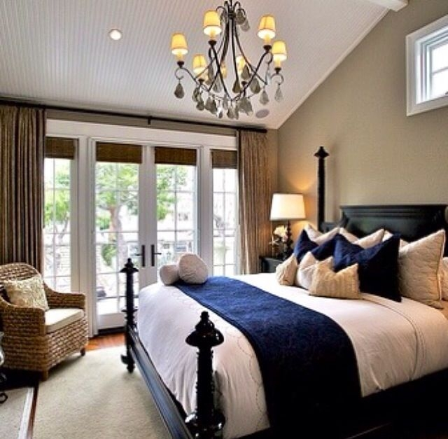 Best Images About Blue And White Bedroom On Pinterest Casual Classic Beige And Blue Bedroom Ideas
