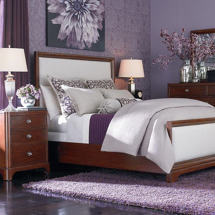 Best Purple Bedroom Decor Ideas On Pinterest Purple Master Beautiful Bedroom Ideas With Purple