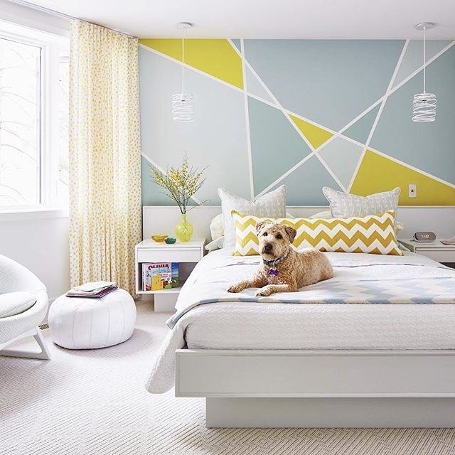 Best Wall Paint Patterns Ideas On Pinterest Wall Painting Cheap Bedroom Painting Design Ideas