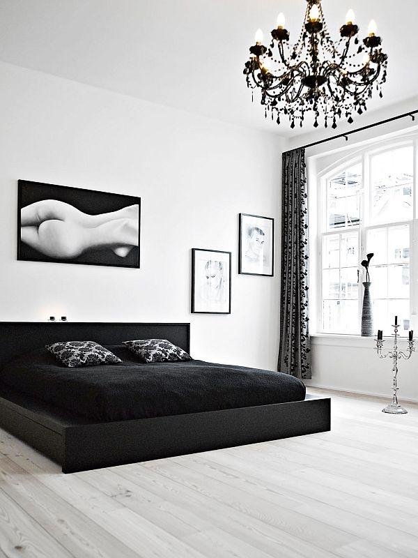 black and white bedroom interior design ideas cool black and white interior design bedroom