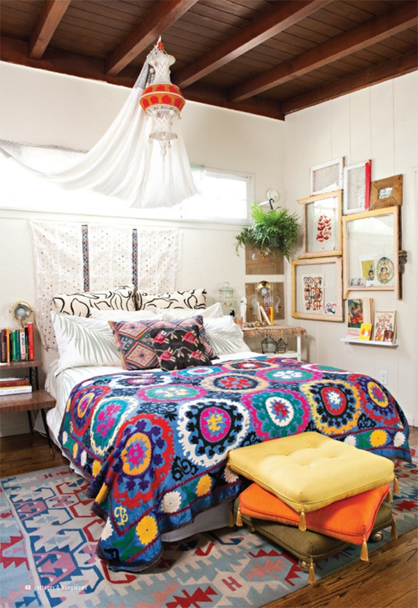 Bohemian Style Bedroom Interior Design Best Bohemian Bedroom Design