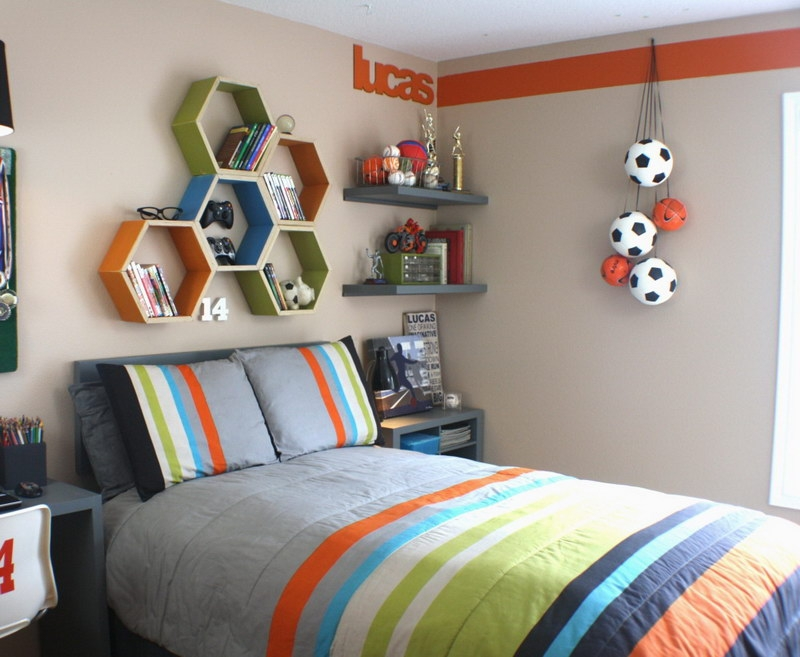 boys room decor boy room pinterest honeycomb shelves boys simple bedroom wall designs for boys