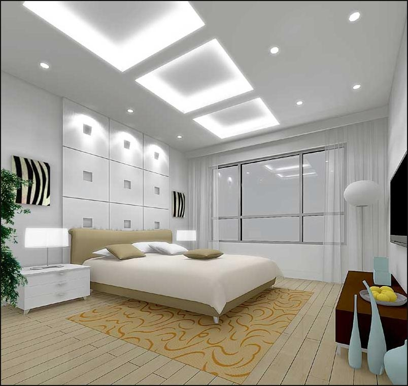Comfy But Sexy Bedroom With Led Lighting Interior Decorating Contemporary Home Lighting Designer
