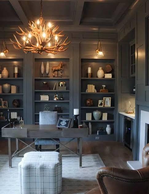 dark home office lighting inspiration and ideas jpeg