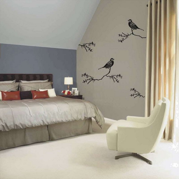 Designer Walls For Bedroom Best Ideas About Bedroom Wall On Minimalist Design Of Bedroom Walls 1
