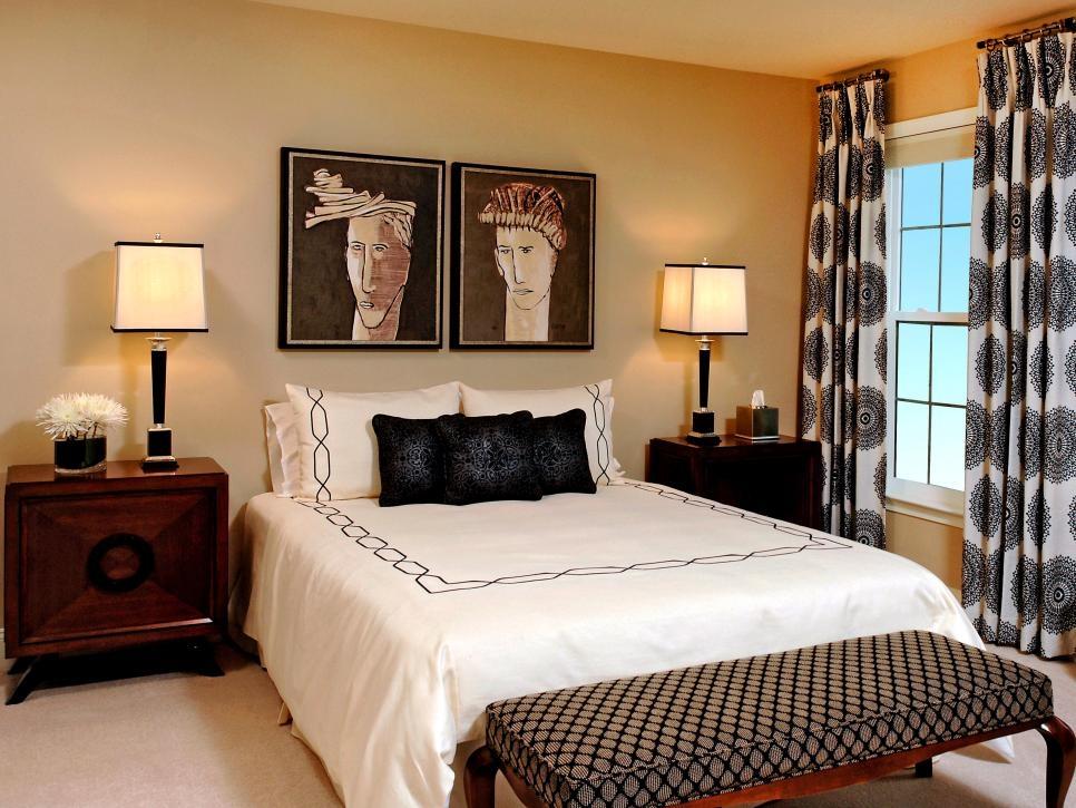 Dreamy Bedroom Window Treatment Ideas Hgtv Classic Bedroom Curtain Design Ideas