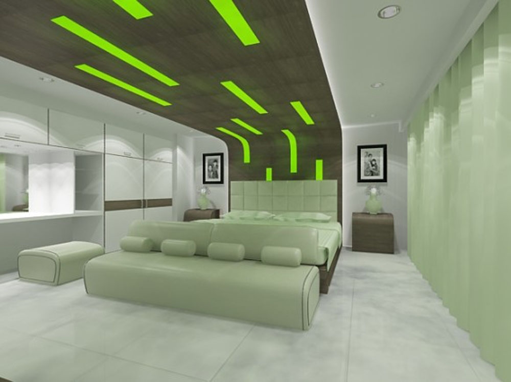 Futuristic Designs Futuristic Green Bedroom Design Interior Luxury Architecture Bedroom Designs
