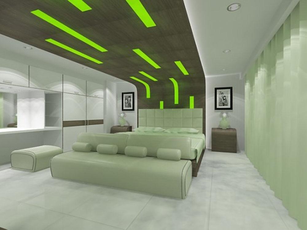 Futuristic Designs Futuristic Green Bedroom Design Interior Luxury Architecture Bedroom Designs