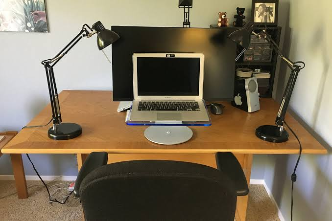 Home Office Lighting For Zoom Look Sharp