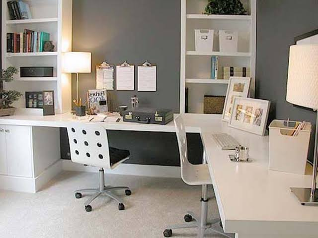 Home Office Lighting Layout Creative Decorating Recessed For With Desk On One Side Of Room Jpeg
