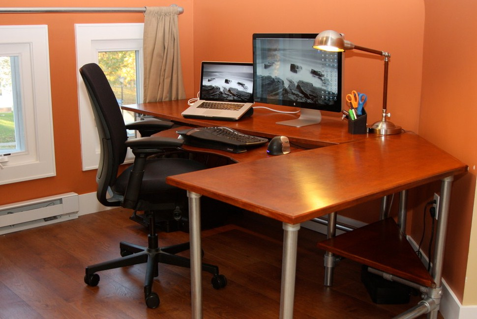 Home Office Modern Ergonomic Computer Desk Contemporary