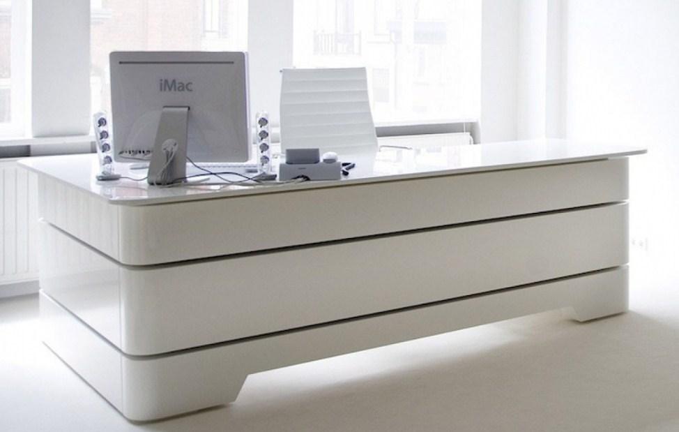Modern Executive Home Office Desk Stylish