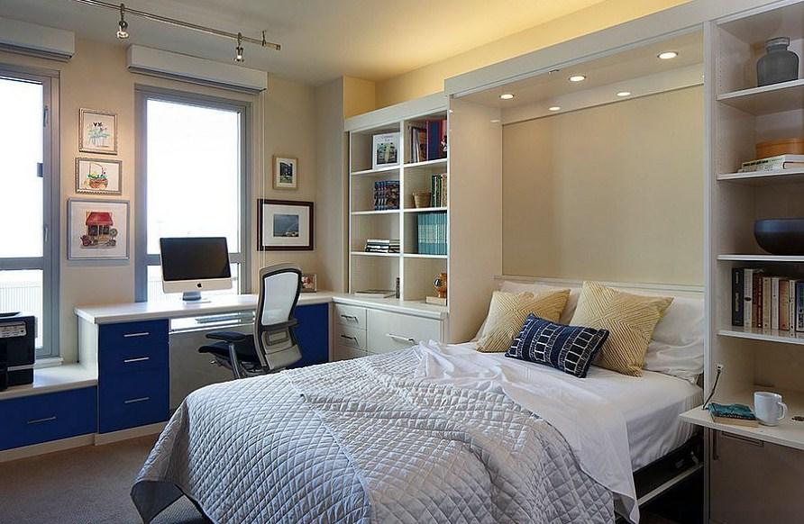 Modern Home Office Guest Room Versatile