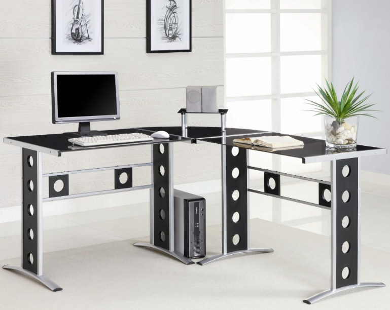 Modern Home Office L Shaped Desk