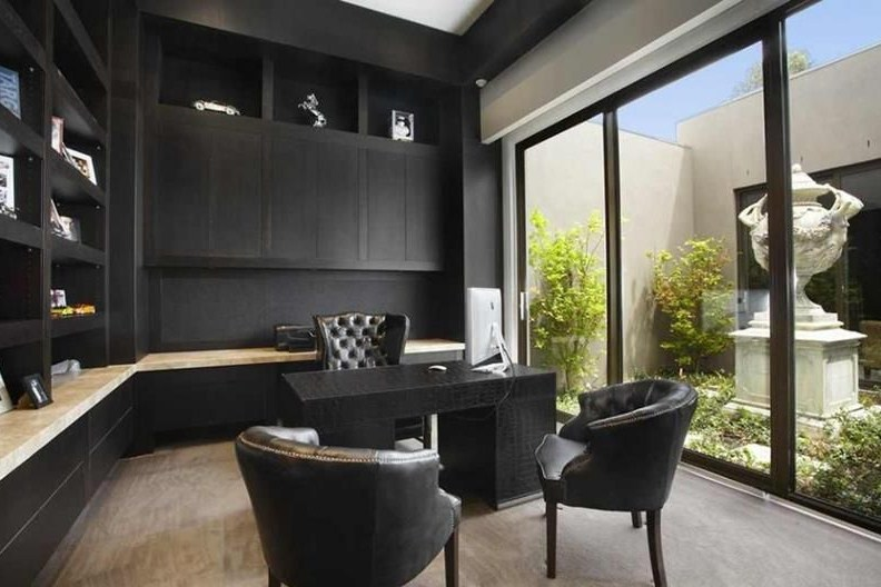 modern home office looks luxury