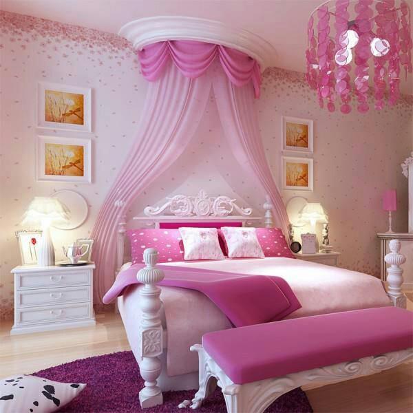 quartos de princesas decorados com sofisticao e elegncia best girls bedroom ideas pink